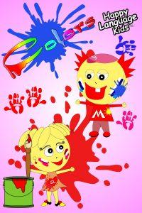 Englisch für Kinder Colors Farben