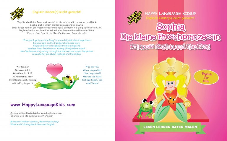 Englisch für Kinder Prinzessin Sophia